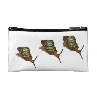 snails cosmetic bag