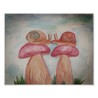 Snails kiss Kodak Professional Photo Paper (Satin)