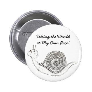 Snail's Pace Button