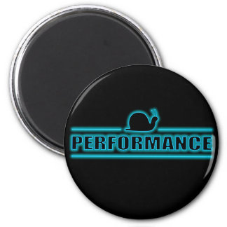 Snails pace performance. 2 inch round magnet