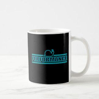 Snails pace performance. coffee mug