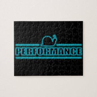 Snails pace performance. jigsaw puzzle