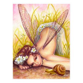 Snail's Pace Postcard