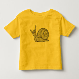 Snails Rock Toddler T-shirt