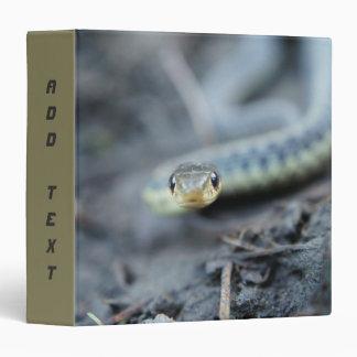 Snake, 3 Ring Binder