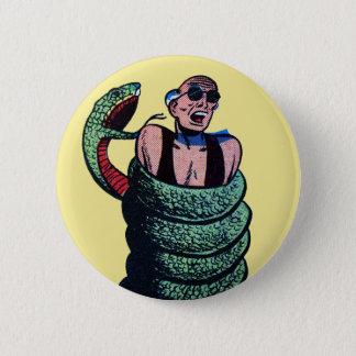 Snake Attack! 2 Inch Round Button