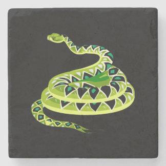 Snake Charm Stone Coaster