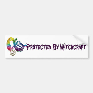 Snake Charming Witch Bumper Sticker