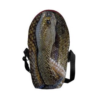 Snake Design - Rickshaw Messenger Bag