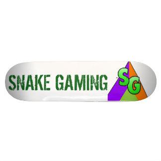Snake Gaming Deck Skateboard Deck