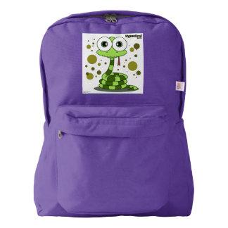 Snake(Green) Backpack, Amethyst Backpack