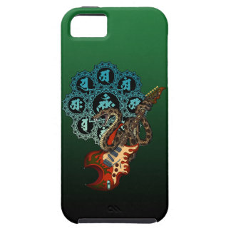 Snake Guitar 05 iPhone 5 Case
