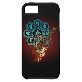 Snake Guitar 05 iPhone 5 Cases