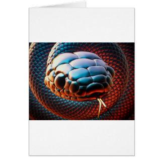 Snake head card