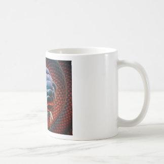 Snake head coffee mug