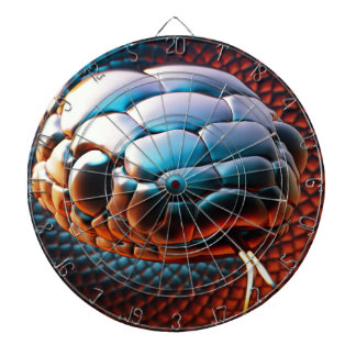 Snake head dartboard