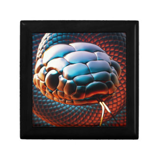 Snake head keepsake boxes