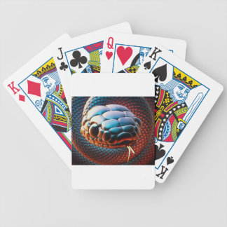 Snake head poker deck
