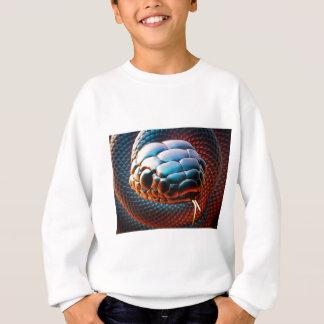 Snake head sweatshirt