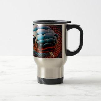 Snake head travel mug