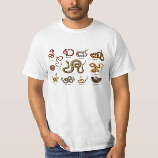 Snake Identification Apparel T-Shirt