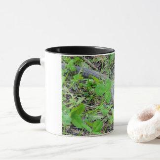 'Snake in the grass' mug