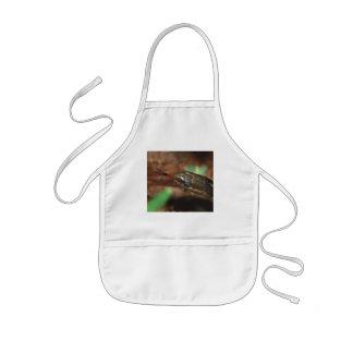 snake kids apron