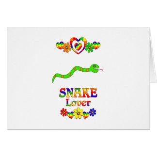 Snake Lover Card