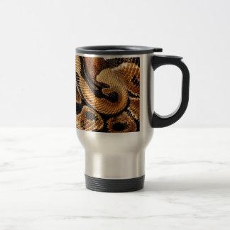 snake lovers Ball Python Travel Mug