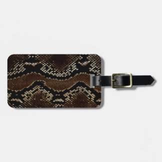 Snake Luggage Tag
