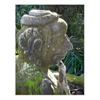 Snake Man Statue Postcard