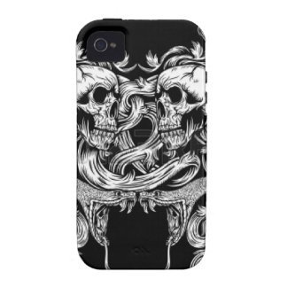 """SNAKE """"N"""" SKULLS iPhone 4/4S CASES"""