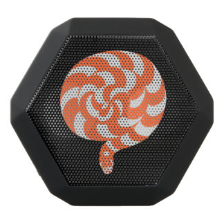 Snake or lollipop black bluetooth speaker