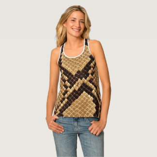 Snake passion tank top