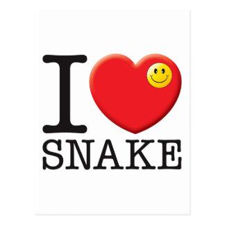 Snake Post Card