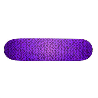 Snake Print Design Skate Board
