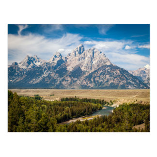 Snake River Overlook Postcard