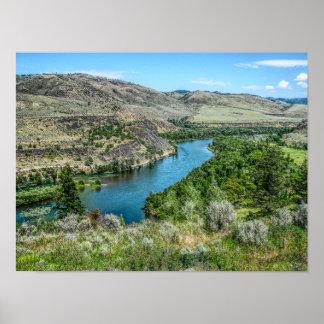 Snake River - Wyoming - Poster Print