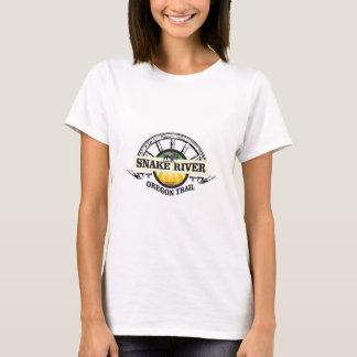 snake river yellow art T-Shirt