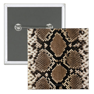 Snake Skin 2 Inch Square Button