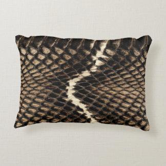 Snake Skin Accent Pillow