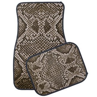 Snake skin auto mat