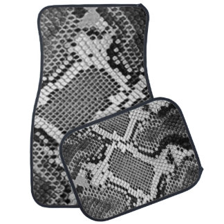 Snake Skin Car Floor Mats by Janz Full Set