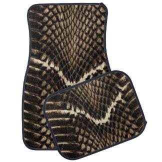 Snake Skin Car Mats Car Mat