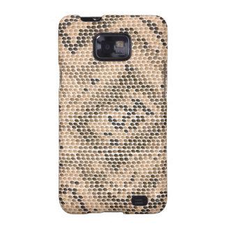 snake skin galaxy SII cover