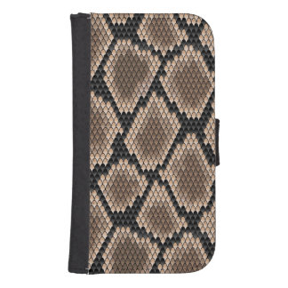 Snake skin galaxy s4 wallet cases