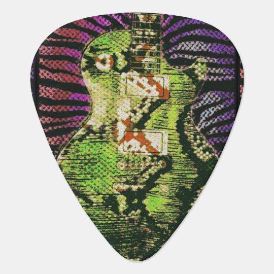Snake Skin Guitar Picks Pick
