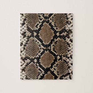 Snake Skin Jigsaw Puzzle