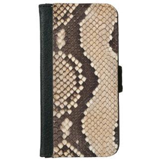 Snake Skin Look iPhone 6 Wallet Case