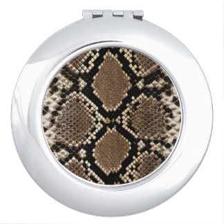 Snake Skin Mirror For Makeup